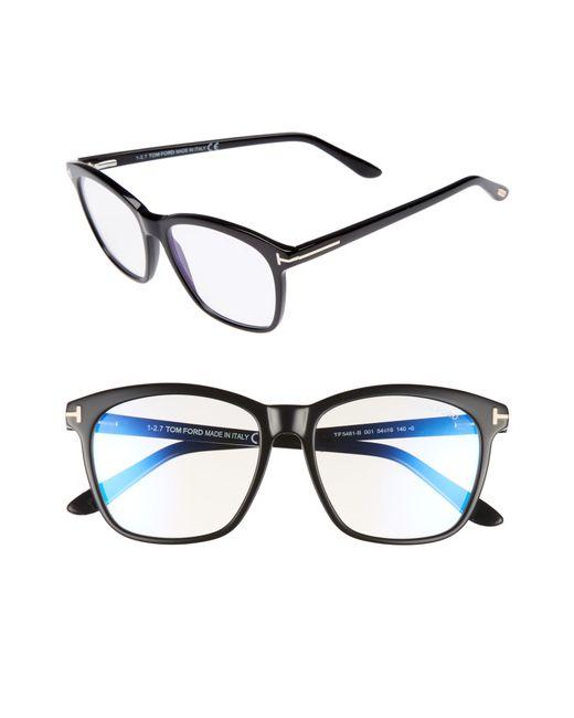 411c5b18f06 Tom Ford - Multicolor 54mm Blue Block Optical Glasses - Lyst