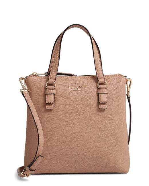 Kate Spade - Brown Jackson Street - Hayley Leather Satchel - Lyst