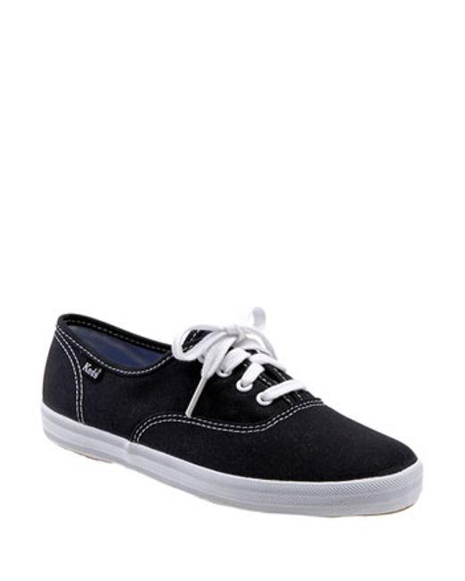 Keds | Black Keds 'champion' Canvas Sneaker | Lyst