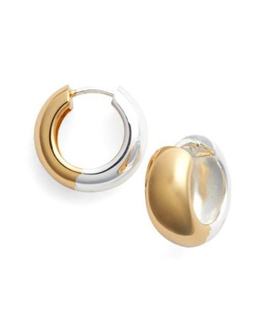 Argento Vivo - Metallic Hoop Earrings - Lyst