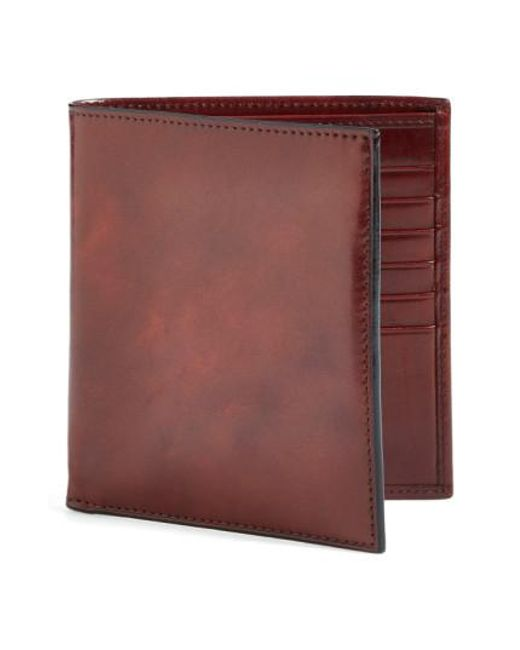 Bosca - Brown 'old Leather' Credit Wallet for Men - Lyst