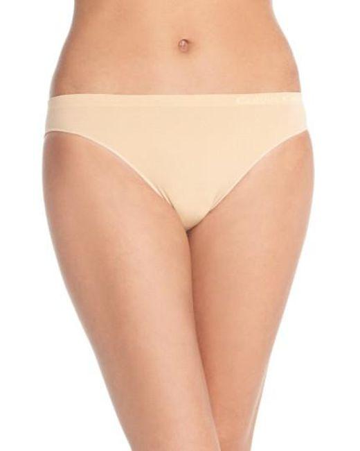 CALVIN KLEIN 205W39NYC - Natural 'pure' Seamless Bikini - Lyst