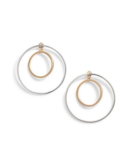Jenny Bird - Metallic Rise Hoop Earrings - Lyst