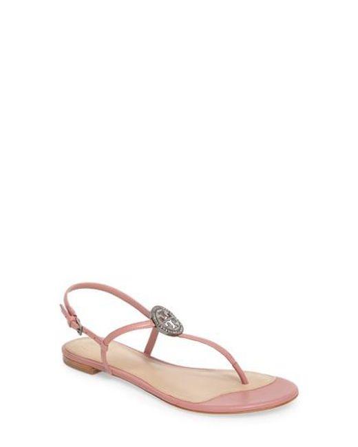 Tory Burch - Pink Liana Sandal - Lyst