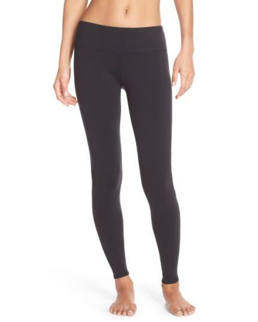 Alo Yoga - Black 'airbrushed' Leggings - Lyst