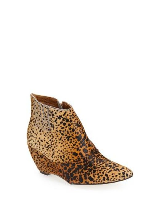 Matisse | Multicolor 'nugent' Wedge Bootie | Lyst