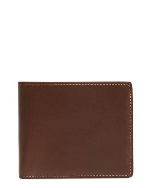 Nordstrom - Brown Leather Wallet for Men - Lyst
