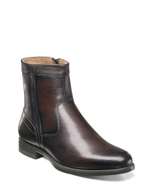 Florsheim | Brown 'midtown' Zip Boot for Men | Lyst