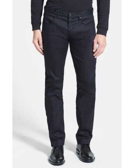 BOSS | Black '708' Slim Fit Jeans for Men | Lyst