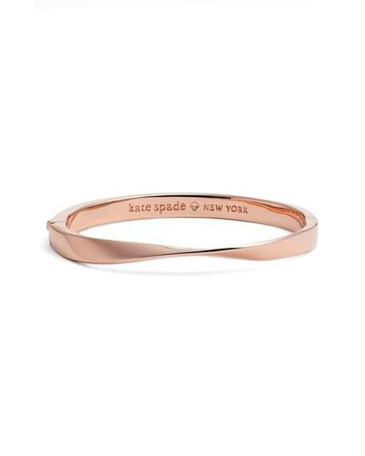 Kate Spade | Multicolor Do The Twist Hinge Bangle | Lyst