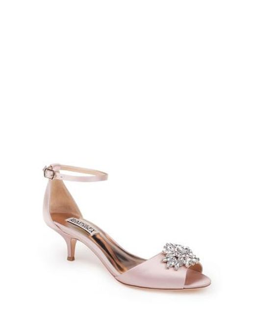 Badgley Mischka Women's Sainte Crystal Embellished Sandal 69rIZ5efM