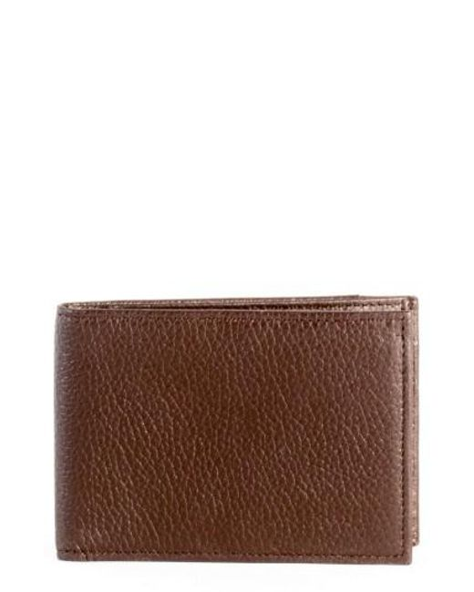 Boconi - Brown Garth Leather Bifold Wallet for Men - Lyst