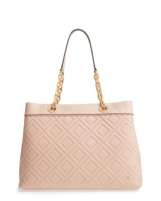 Tory Burch | Multicolor Lousia Lambskin Leather Tote | Lyst