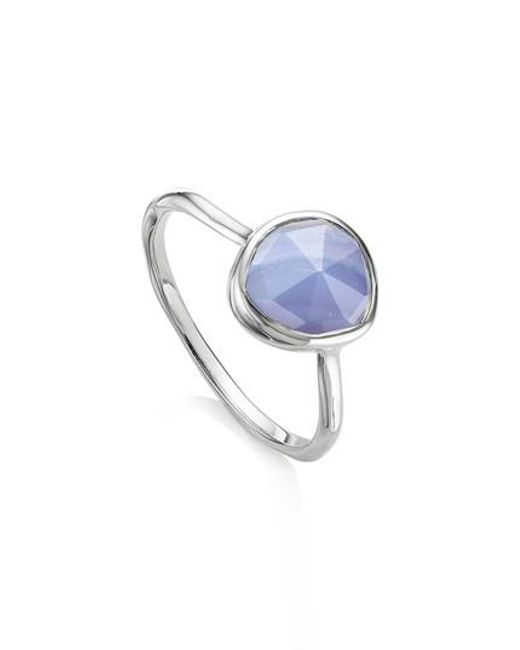 Monica Vinader | Blue Siren Semiprecious Stone Stacking Ring | Lyst