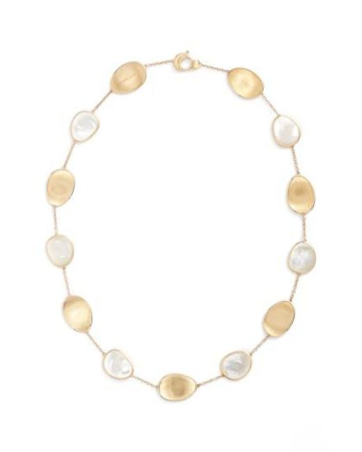 Marco Bicego - Multicolor Lunaria Mother Of Pearl Collar Necklace - Lyst