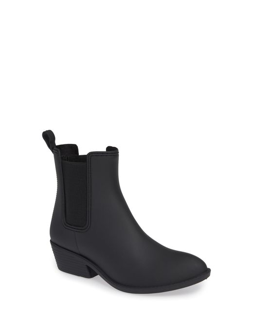 Jeffrey Campbell - Black Climate Waterproof Rain Boot - Lyst
