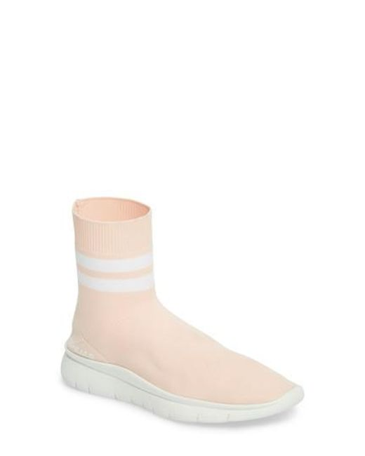 JOSHUA SANDERS Women's Jump High Top Sock Sneaker r8vn0