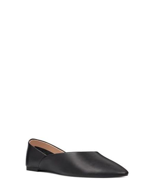 Nine West - Black Monika Skimmer Flat - Lyst