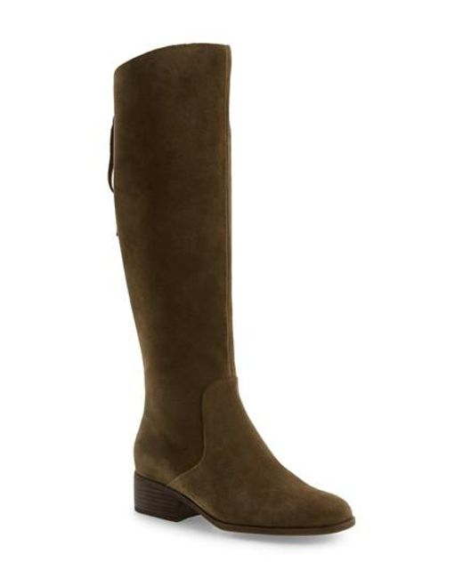 Lucky Brand | Green Lanesha Over The Knee Boot | Lyst