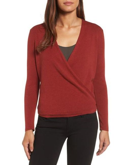 NIC+ZOE | Red 4-way Convertible Cardigan | Lyst