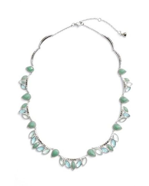 Judith Jack | Blue Lakeside Collar Necklace | Lyst