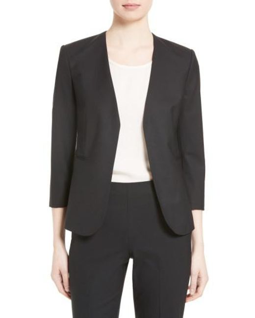 Theory - Pink Lindrayia B Good Wool Suit Jacket - Lyst