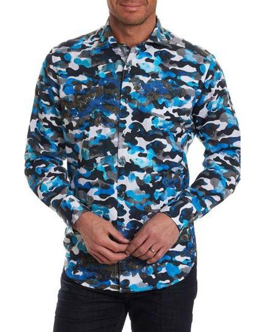 100% Guaranteed Online Robert Graham Blue De Skies Limited Edition Classic Fit Sport Shirt Nicekicks Sale Online Buy Cheap Footlocker Cheap Explore Original 6tV0FA