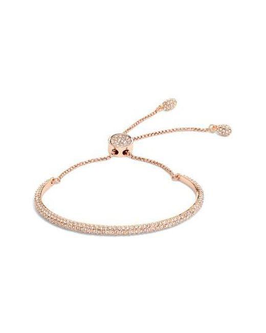 Vince Camuto | Metallic Crystal Pave Bracelet | Lyst