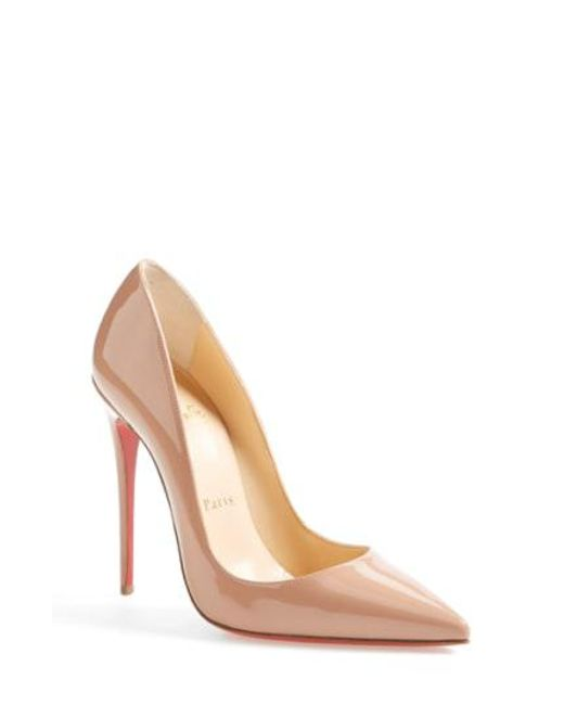 Christian Louboutin - Multicolor 'so Kate' Pointy Toe Pump - Lyst