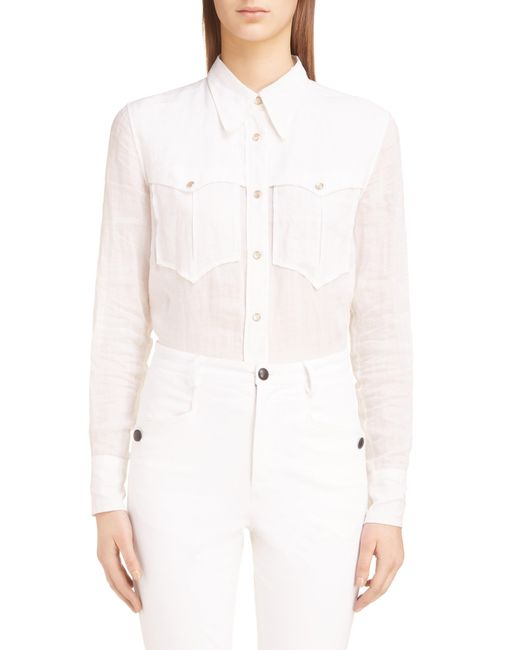 Isabel Marant - White Naria Shirt - Lyst