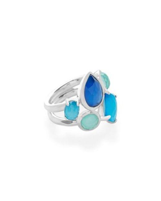 Ippolita | Blue Wonderland Cluster Ring | Lyst