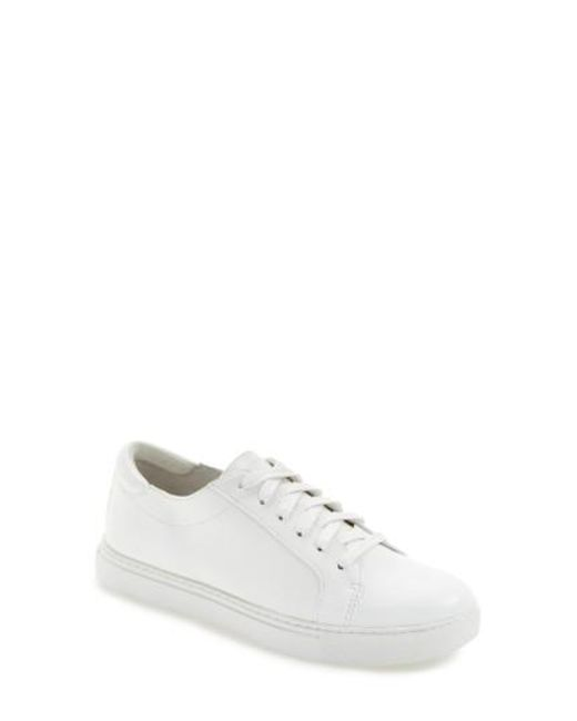 Kenneth Cole | White 'kam' Sneaker | Lyst