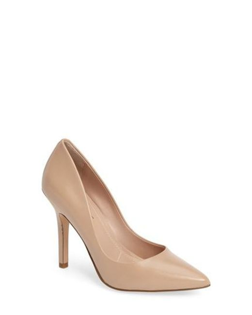 Charles David - Natural Maxx Pointy Toe Pump - Lyst