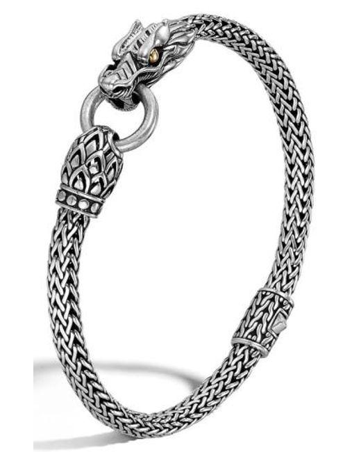 John Hardy   Metallic 'legends' Dragon Bracelet   Lyst
