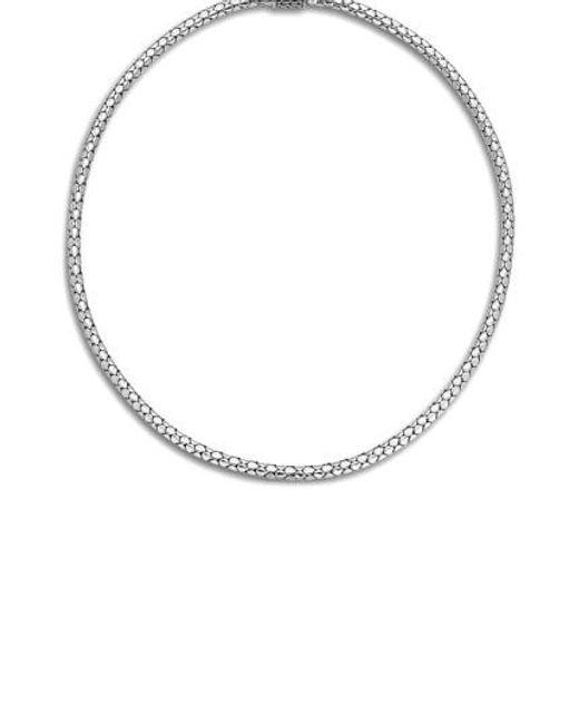 John Hardy | Metallic Dot Chain Necklace | Lyst