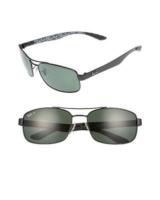 Ray-Ban | Gray 62mm Polarized Sunglasses for Men | Lyst