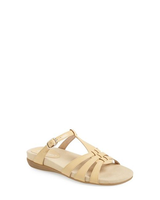 David Tate | Natural 'squeeze' Sandal | Lyst