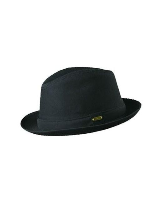 Stetson | Black Water Repellent Trilby for Men | Lyst