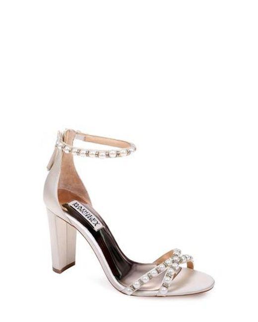 Badgley Mischka Women's Hooper Ankle Strap Sandal