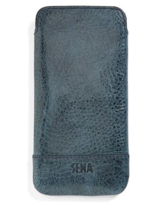 Sena | Blue Heritage Ultra Slim Leather Iphone 6/6s Case for Men | Lyst