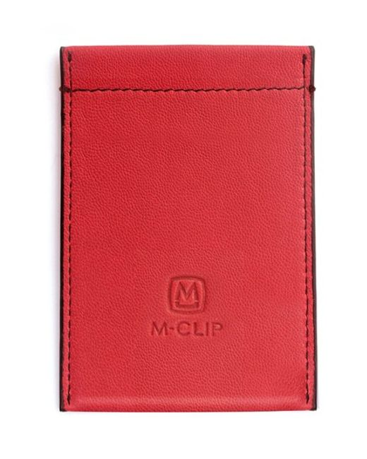 M-clip   Red M-clip Rfid Card Case for Men   Lyst