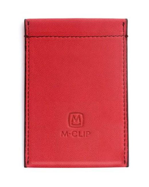 M-clip | Red M-clip Rfid Card Case for Men | Lyst