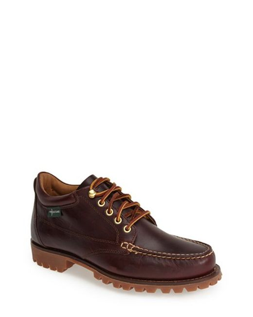 Eastland | Purple 'brooklyn 1955' Leather Moc Toe Boot for Men | Lyst