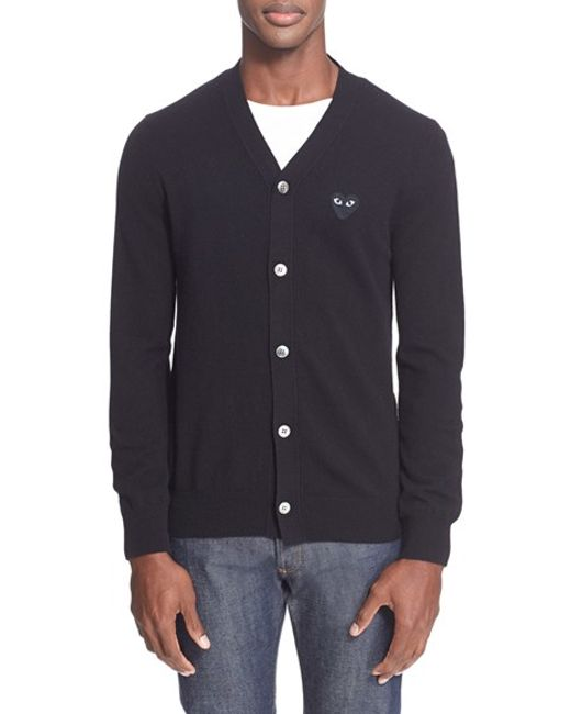 Comme des Garçons | Natural Play Lambswool Cardigan for Men | Lyst