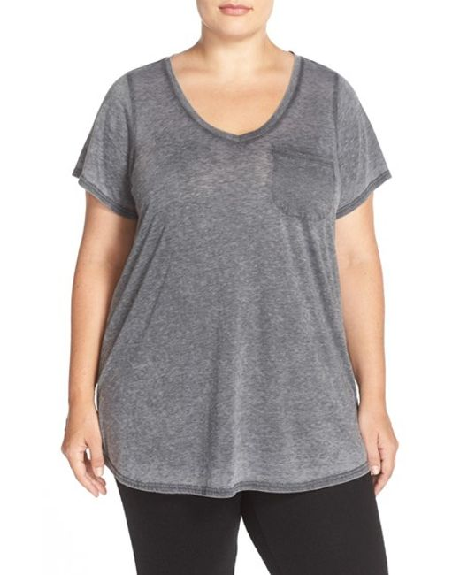 Make + Model | Gray 'gotta Have It' V-neck Tee | Lyst