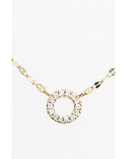 Lana Jewelry | Metallic Diamond Pendant Necklace | Lyst