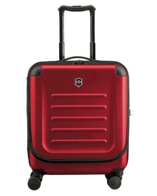 Victorinox | Red Victorinox Swiss Army Spectra 2.0 Hard Sided Rolling Carry-on for Men | Lyst