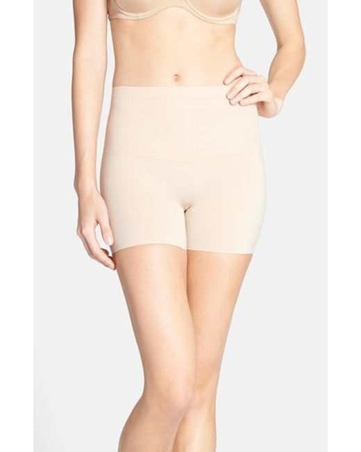 Spanx | Natural Spanx Shape My Day Girl Shorts | Lyst