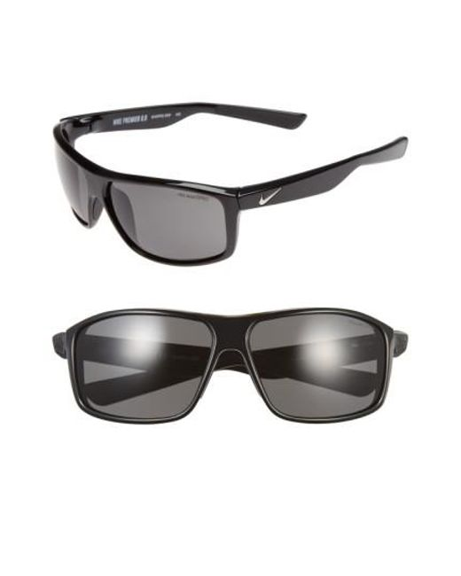 Nike | Black 'premier 8.0' 63mm Sunglasses | Lyst