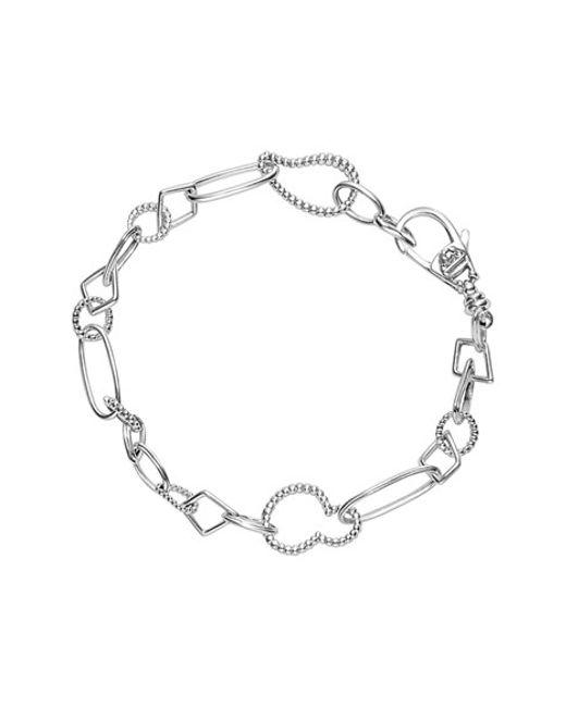 Lagos | Metallic 'link' Mixed Link Bracelet | Lyst